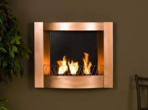 Amazon.com - SEI Copper Wall-Mountable Gel Fuel Fireplace ...