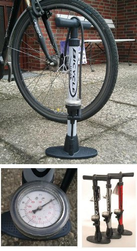 Standluftpumpe Standpumpe Fahrradpumpe Luftpumpe 11 bar