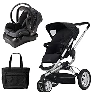 Quinny BUZZ3TRVSTM Buzz 3 Travel System in Black
