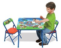 PAW PATROL ACTIVITY TABLE CHAIRS Set Kids Art Crafts ...