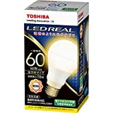 東芝 LED電球 一般電球形 810lm(電球色相当)TOSHIBA E-CORE(イー・コア)全方向タイプ LDA8L-G/60W