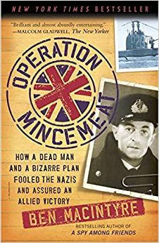 Jacket image, Operation Mincemeat by Bill McIntyre