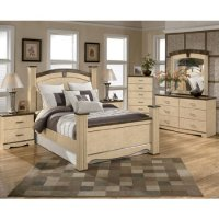 Olivia Bay Poster Bedroom Set (queen) By Ashley Furniture