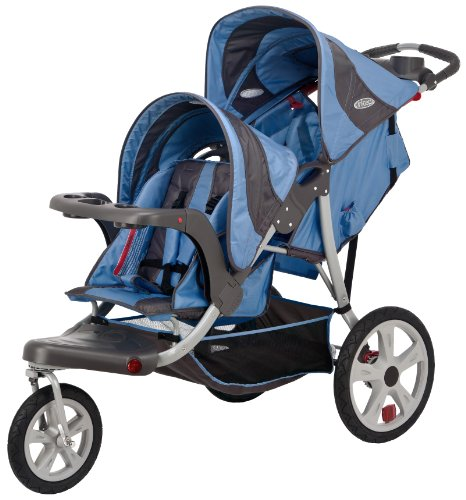 628a376d52b InStep Safari Double Tandem Stroller (16-Inch