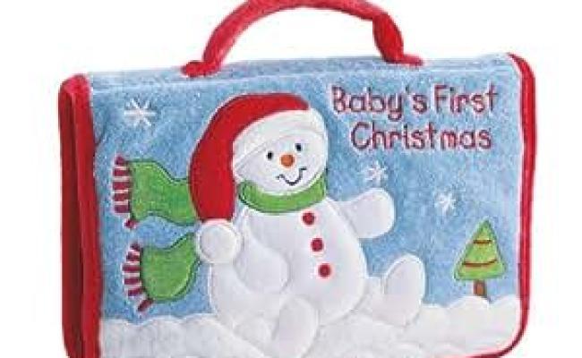 Amazon Gund Baby S First Christmas Photo Album Toys
