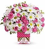 Fresh Cut Flowers - Polka Dots & Posies Bouquet