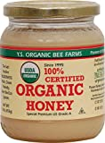 YS Royal Jelly/Honey Bee - Organic Honey, 16 oz gel
