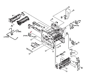 Amazon.com: Hp Laserjet 4345 Rk2-0278-000cn Main Cooling