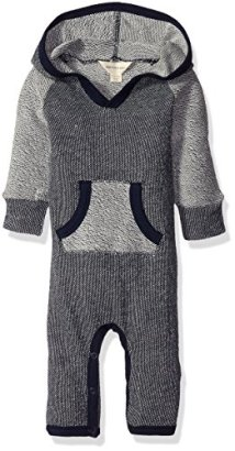 Burts-Bees-Baby-Baby-Boys-Organic-Loose-Pique-Hooded-Coverall