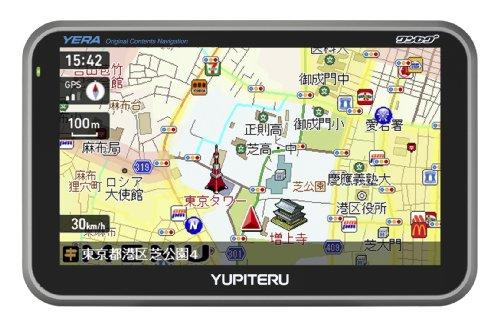ユピテル (YUPITERU) ワンセグ内蔵オリジナルコンテンツ搭載ポータブルナビゲーション YPB506si