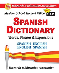 "Cover of ""Spanish Dictionary: Words, Phra..."
