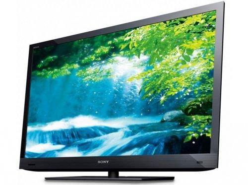 Sony Bravia KDL-40EX720BAEP 102 cm (40 Zoll) 3D-LED-Backlight-Fernseher Energieeffizienzklasse A (Full-HD, Motionflow XR 200Hz, DVB-C/T, CI+, HDMI) schwarz