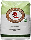 Decaf SWP Organic Mexican City Roast, Whole Bean Coffee, 5-Pound Bag