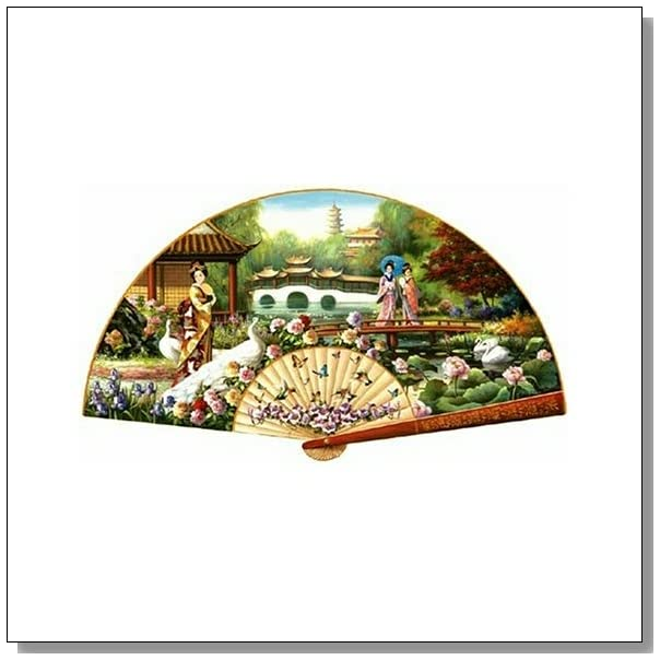 Sunsout Japanese Garden Shaped 1000 Piece Jigsaw Puzzle