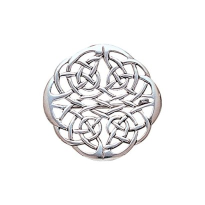 Jewelry-Trends-Sterling-Silver-Round-Elegant-Celtic-Knot-Work-Brooch-Pin