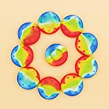 10PCS Rainbow PTU Silicone Rubber Gel Analogue Thumb Grip Stick Caps Corvers for PS4/PS3/XBOX 360/XBOX ONE/Wii Controllers