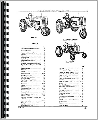 John Deere HWH Tractor Parts Manual: Amazon.com