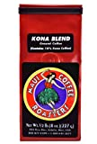 Maui Coffee Roasters Ground Coffee, Kona Blend, 8-Ounce
