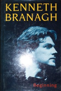 Cover of Kenneth Branagh's autobiography.