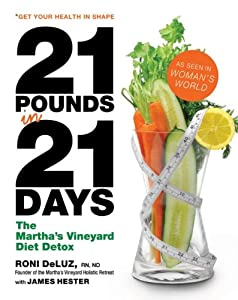 "Cover of ""21 Pounds in 21 Days: The Marth..."