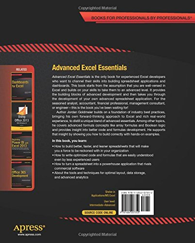 Advanced Excel Essentials has been Published! | Option