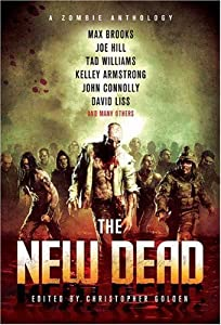 """Cover of """"The New Dead: A Zombie Antholog..."""