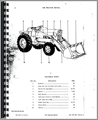 Massey Ferguson 406 Tractor Parts Manual: Amazon.com