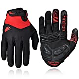 FIRELION Outdoor Full finger Gel Touch Screen Cycling Gloves Biking Mountain Bike Bicycle MTB DH Downhill Off Road Glove