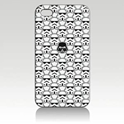 cool star wars stormtrooper darth vader helmets design iphone 4/4s case at amazon