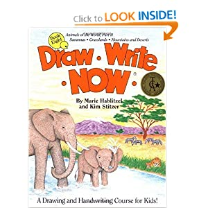 Draw Write Now, Book 8: Animals of the World, Dry Land Animals (Draw-Write-Now)