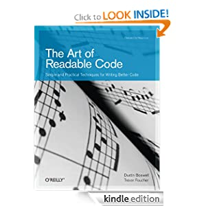 The art of readable code image