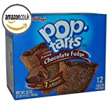 Kellogg's Pop Tarts Frosted Chocolate Fudge, 22 oz