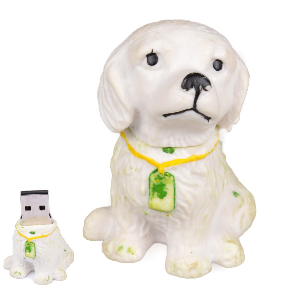 16GB Cute 3D Puppy Dog USB Flash Drive