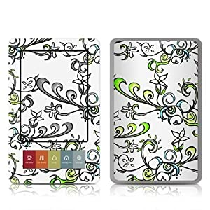 Olga Design Protective Decal Skin Sticker for Barnes and Noble NOOK (Black and White LCD) E-Book Reader - High Gloss Coating