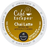 Café Escapes Chai Latte K-Cup Portion Count for Keurig Brewers, 24 Count