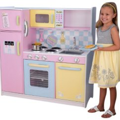 Child Kitchen Set Where Can I Buy An Island For My Kidkraft Playsets Kids Pretend Sets Large