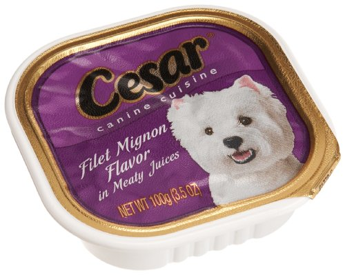 CESAR Canine Cuisine Filet Mignon Flavor Dog Food Trays 3