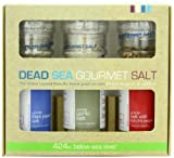 Salt 424 Three Grinder Pack 100% Organic Salts, Black Pepper, Garlic and Hot Chili, 25.11 Ounce