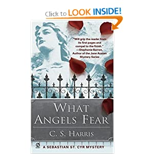 What Angels Fear: A Sebastian St. Cyr Mystery, Book 1