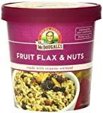 Dr. McDougall's Right Foods Fruit, Flax and Nuts Oatmeal Made with Organic Oats, 2.7 Ounce (Pack of 6)