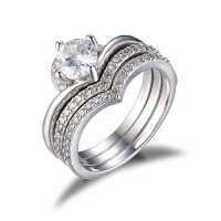 Jewelrypalace Women vintage 1.9ct Cubic Zirconia Halo ...