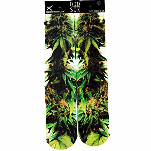 Odd Sox Hydro Green/White Crew Socks Sz: 6-13