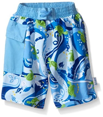 i-play-Toddler-Boys-Pocket-Trunks-with-Built-In-Swim-Diaper-Blue-Turtle-4T