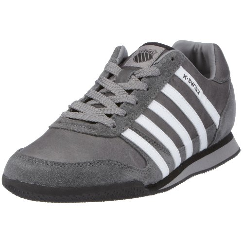 K-Swiss WHITBURN L 01351-207-M-1, Herren, Sneaker, Grau  (stingray/white/black), EU 40  (UK 6,5)