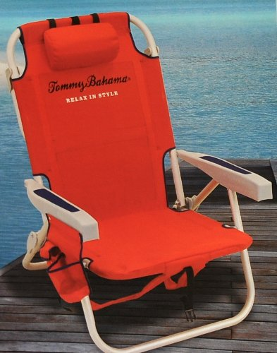 tommy bahama cooler chair kohls chaise lounge chairs red backpack shopswell