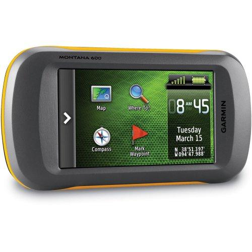 Garmin Montana 600 Waterproof Hiking GPS