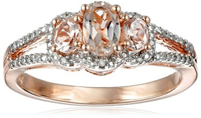 10K-Pink-Gold-Oval-Morganite-and-White-Diamond-Ring