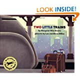 Two Little Trains, by Margaret Wise Brown, illustrated by Leo and Diane Dillon