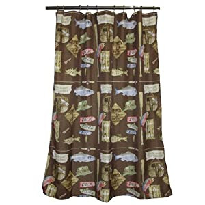 Fishing Theme Shower Curtain Pictures To Pin On Pinterest PinsDaddy