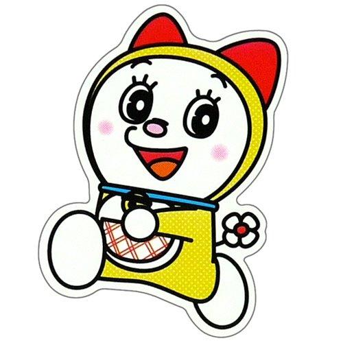 ドラえもん《ドラミちゃん》miniステッカー/防水加工!!☆アニメキャラクターグッズ/シール通販☆